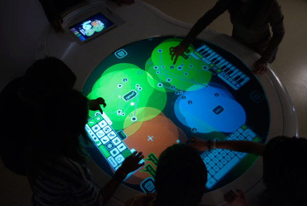 MESOSFERA, Interactive Learning Table