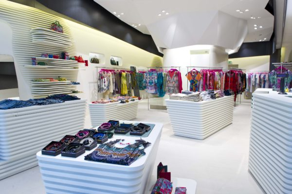 CUSTO BARCELONA Flagship Store, Westfield Mall London
