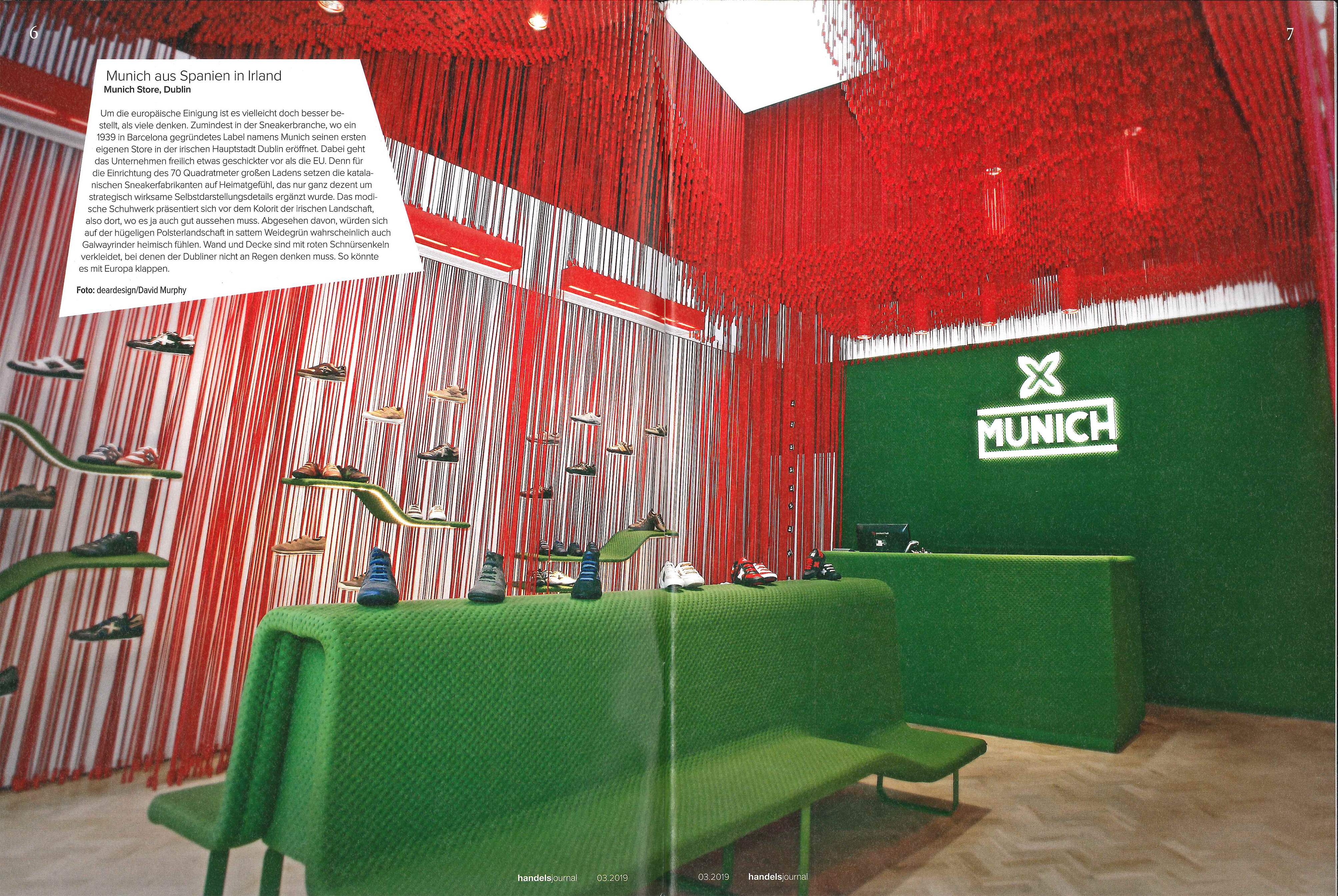 handelsjournal: Munich Spain in Irlanda